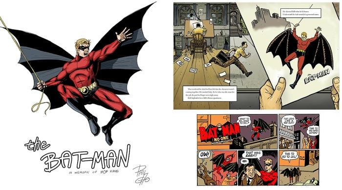 first_bat_man_bob_kane_elmurrial