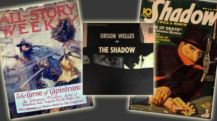 the_Zorro_Johnston McCulley_the_Shadow_radio_welles_elmurrial